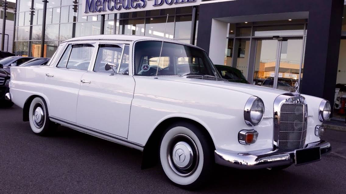 Mercedes Benz 200 Wedding Car