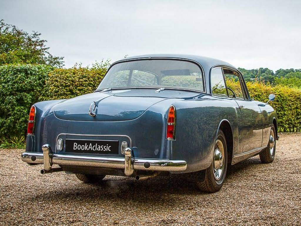 Alvis TD21 Saloon for hire in London Hire Potters Bar, London
