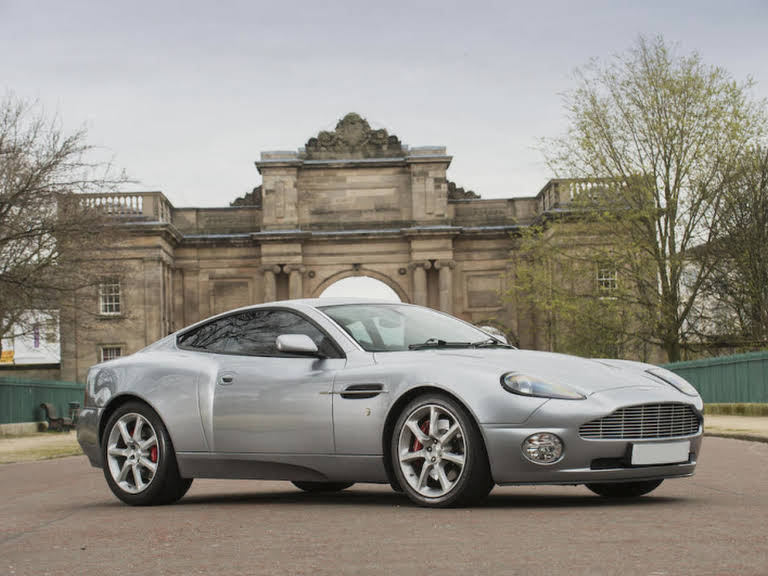 Aston Martin Vanquish For Hire In London Bookaclassic