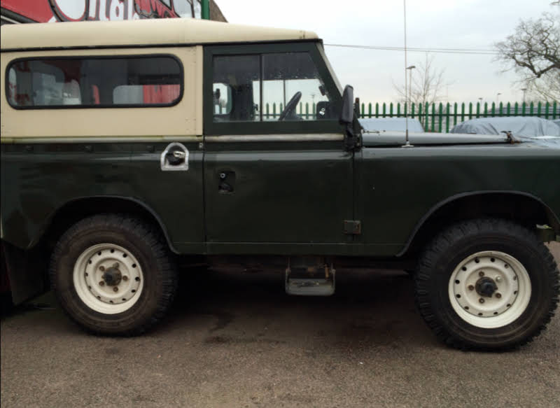 Land Rover Series 3 For Hire In Potters Bar London