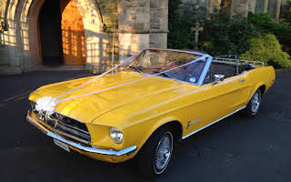 Ford Mustang Convertible Rent North East
