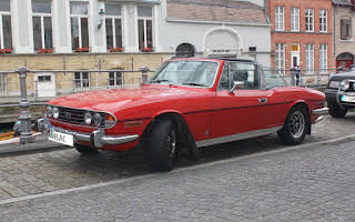 Triumph Stag Rent North East