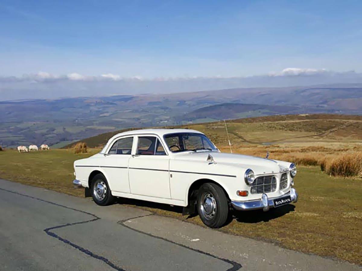 Volvo Amazon B20 For Hire In Llanwrtyd Wells Bookaclassic