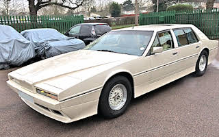 Aston Martin Lagonda Series 2 Tickford limousine Rent Greater London