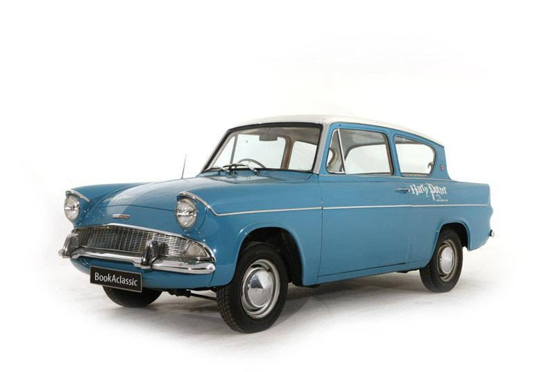 Ford Anglia Deluxe For Hire In London