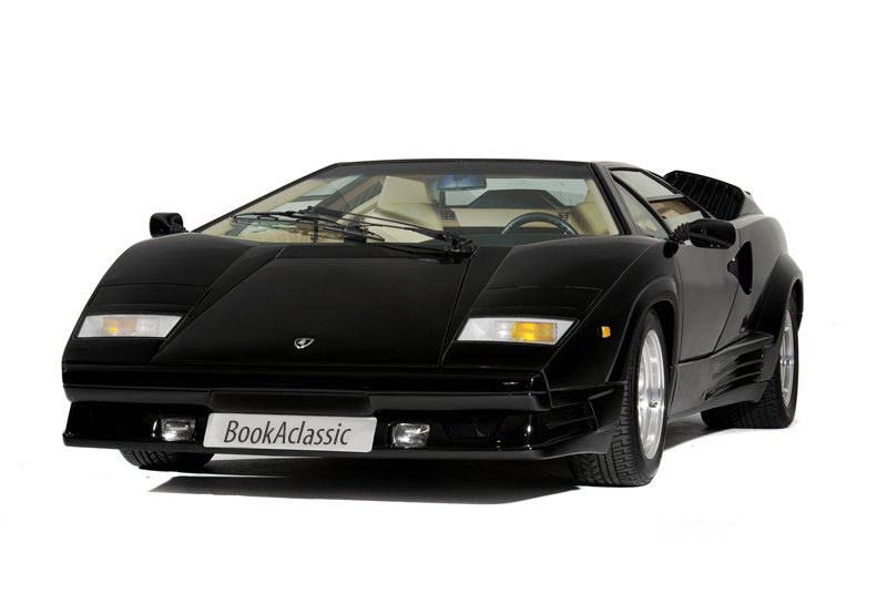 Lamborghini Countach 25th Anniversary For Hire In London