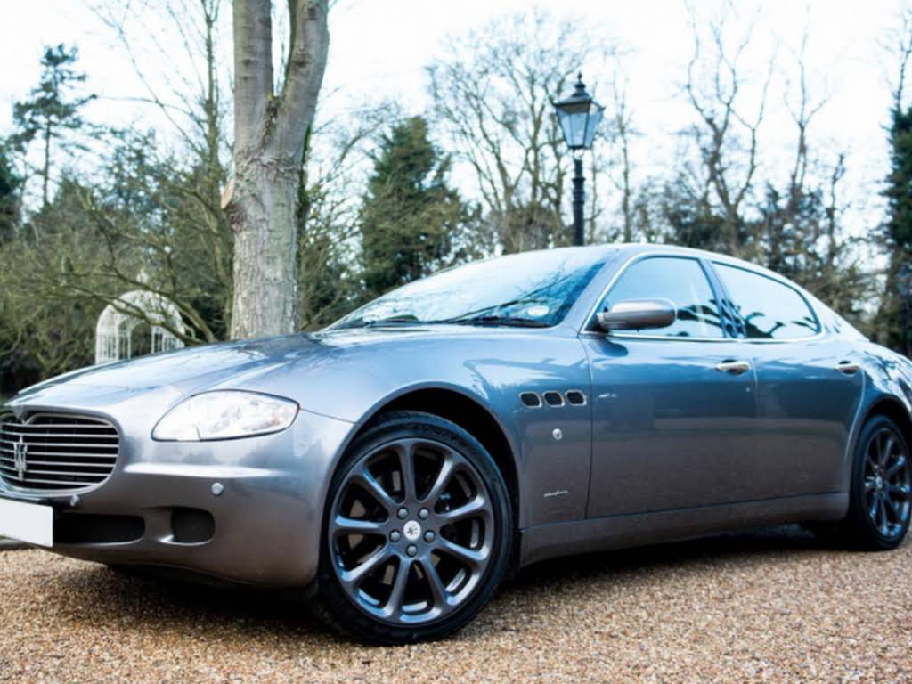 Maserati Quattroporte for hire in London Hire Potters Bar, London