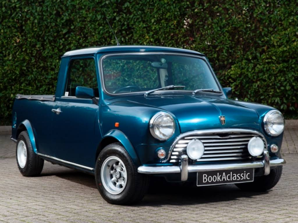 austin mini 95l pick up for hire in potters bar london bookaclassic. Black Bedroom Furniture Sets. Home Design Ideas