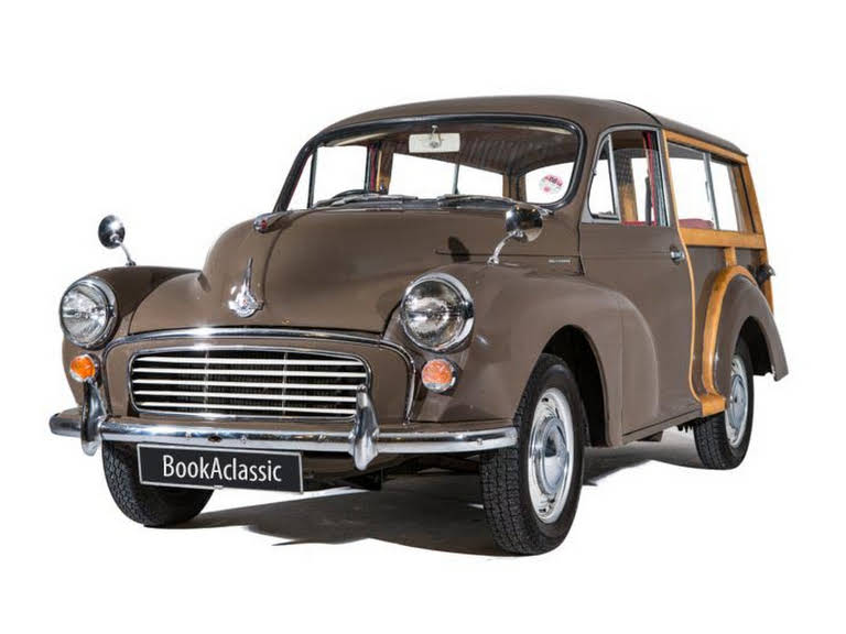 Morris Traveller For Hire In Potters Bar London Bookaclassic