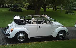Volkswagen Beetle Cabriolet Rent Scotland