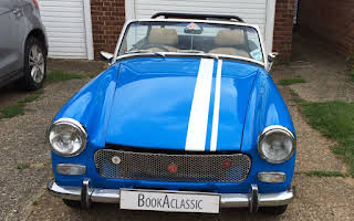 MG Midget Rent North East