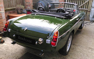 MG BV8 Roadster Chapel Row