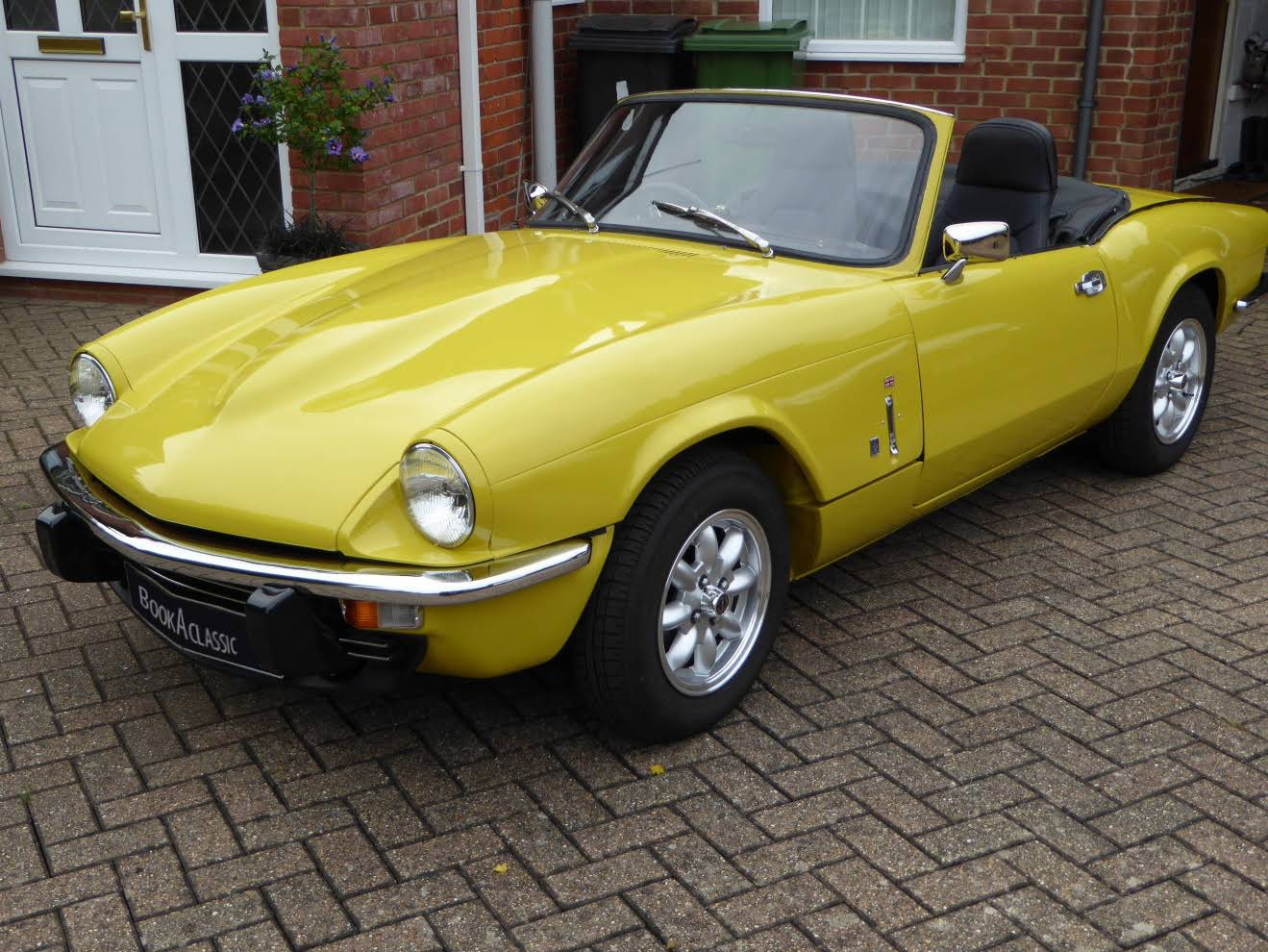 Triumph Spitfire For Hire In Thatcham Bookaclassic