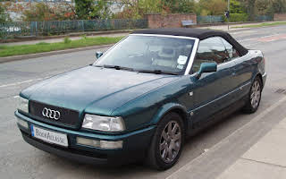 Audi Cabriolet Rent North West