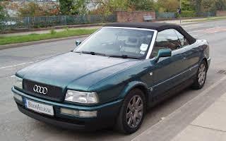 Audi Cabriolet Rent North West