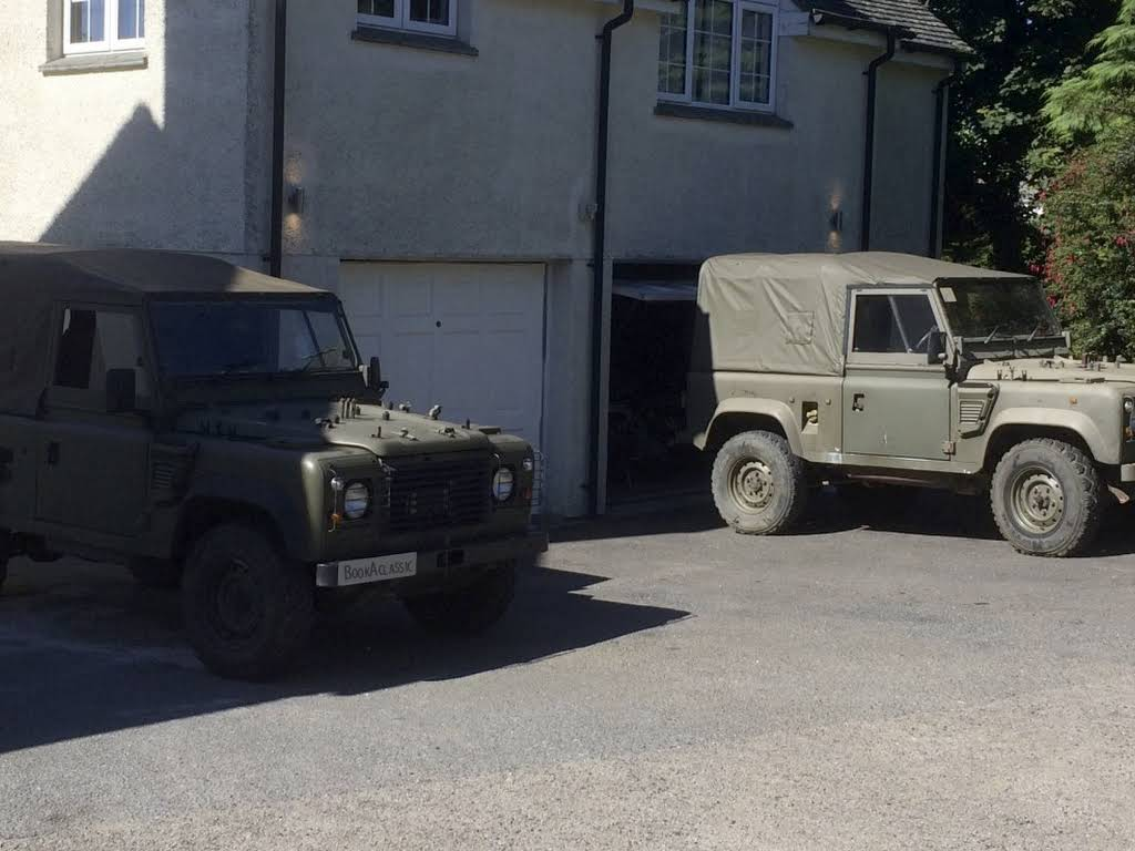 Landrover Defender Army Wolf Hire london