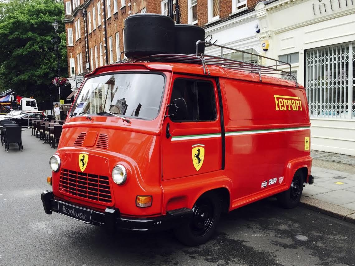 Renault Estafette Van For Hire In Benfleet Bookaclassic