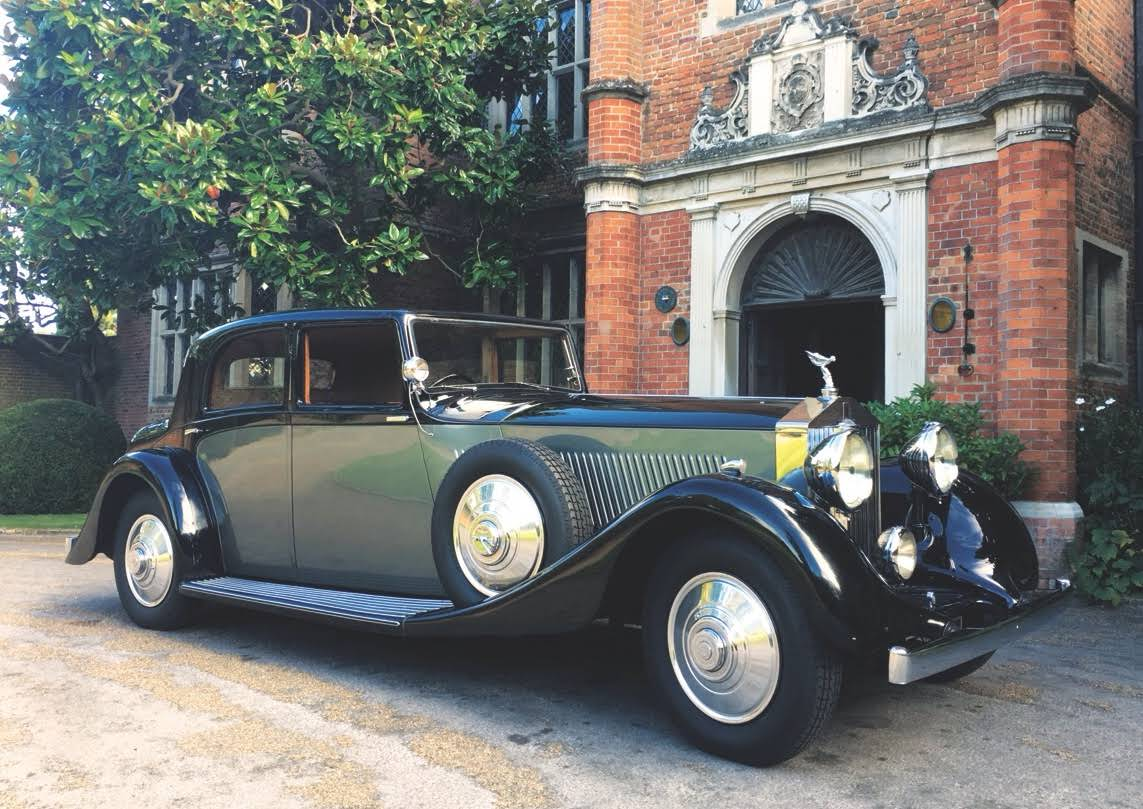 Rolls-Royce Phantom 11 for hire in Shepperton - BookAclassic