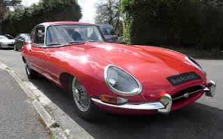 Jaguar E-Type 2+2 Rent South West