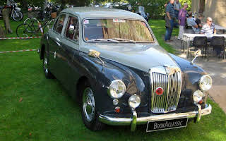 MG ZB Magnette Varitone Stevenage