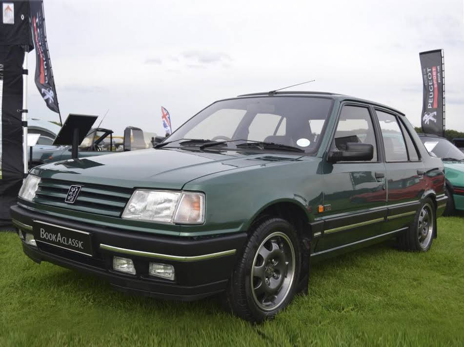 peugeot 309 gti goodwood for hire in wigan bookaclassic. Black Bedroom Furniture Sets. Home Design Ideas