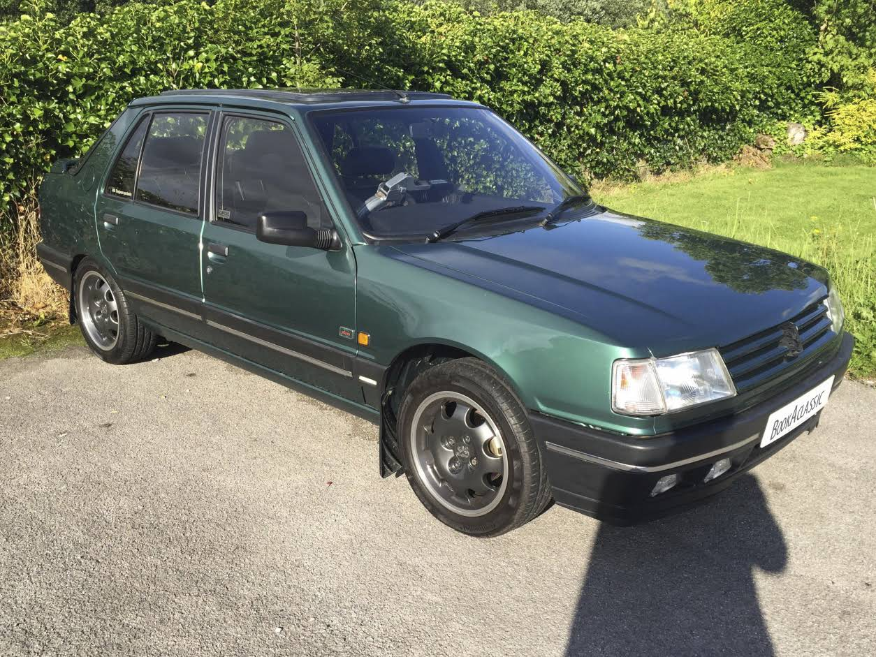 Peugeot 309 Gti Goodwood For Hire In Wigan Bookaclassic