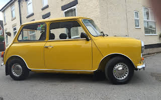 Austin Mini 1000 Hire Stoney Stanton