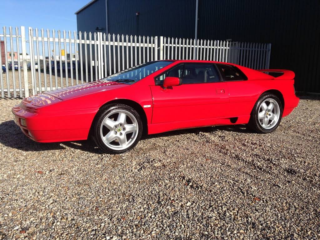 Lotus Esprit S4 2.2 Turbo X180 Hire Cambridgeshire