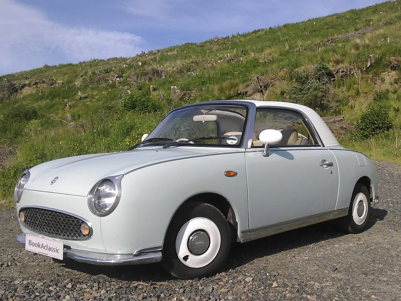 Nissan Figaro For Hire In Hawick Bookaclassic