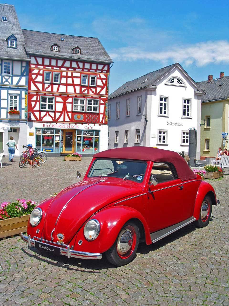 Volkswagen Beetle For Hire In London Bookaclassic