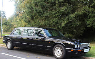 Daimler 6 Door Stretched Limousine  Hire Hove