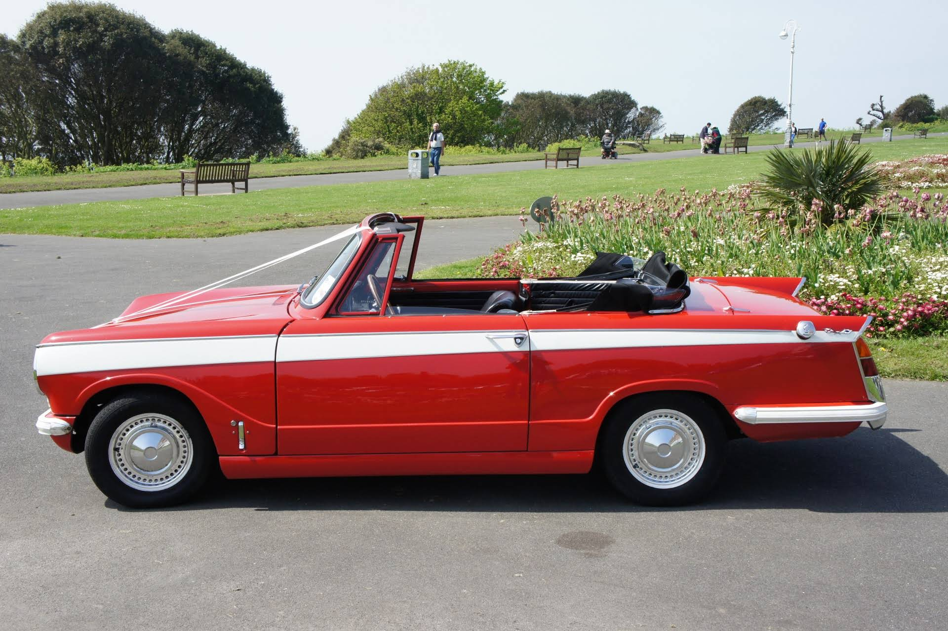 Triumph Herald Convertible For Hire In Folkestone Bookaclassic