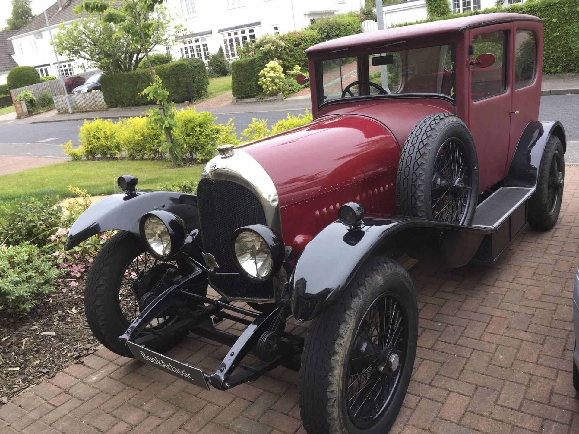 Classic Wedding Car Hire Glasgow