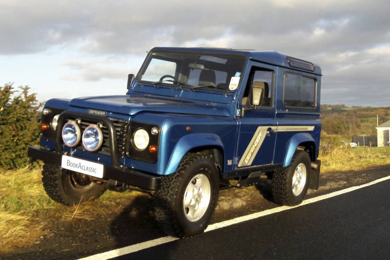 land rover defender 90 for hire in bridge of weir bookaclassic. Black Bedroom Furniture Sets. Home Design Ideas