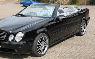 Mercedes Benz Clk 430 Rent East Midlands