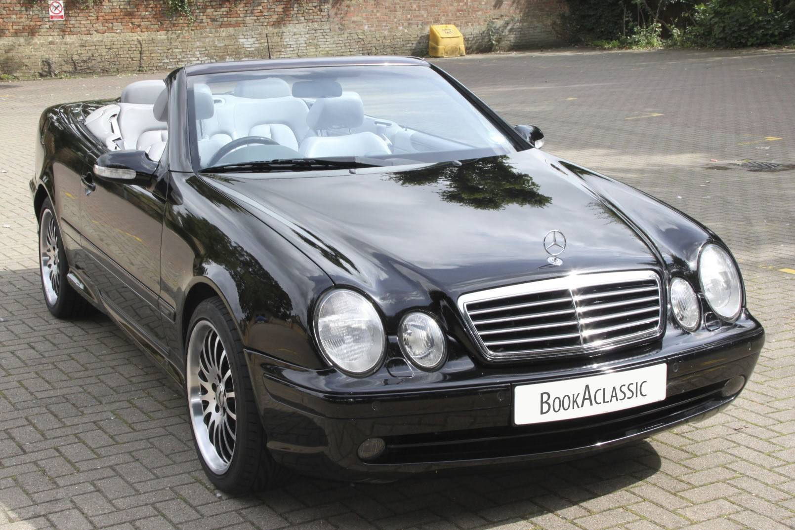 mercedes benz clk 430 for hire in ely bookaclassic