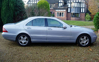 Mercedes S350 S-class Hire Knutsford