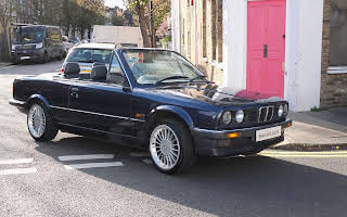 BMW E30 320i Convertible Hire London