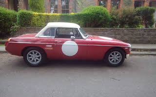 MG Mgb Hire Cardiff