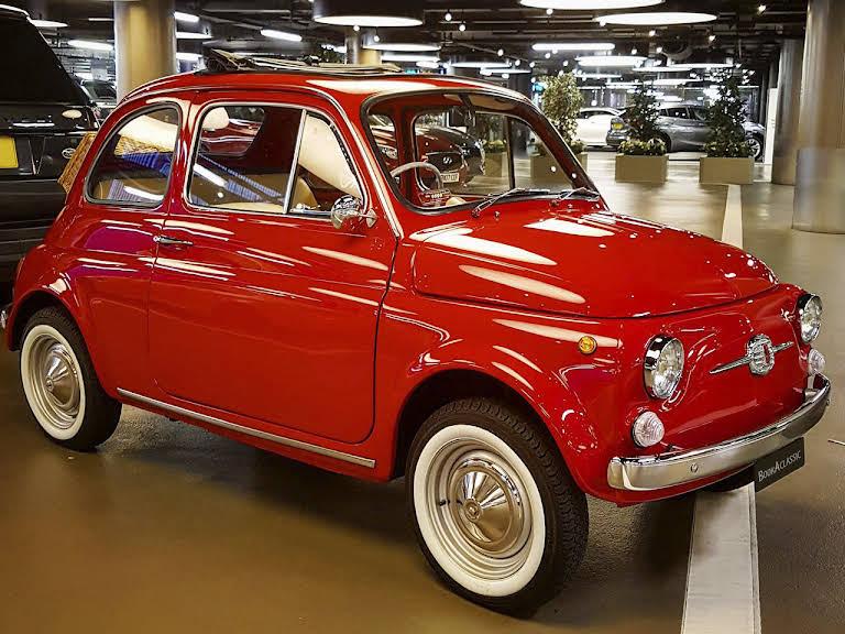 Fiat 500f Right Hand Drive For Hire In London Bookaclassic