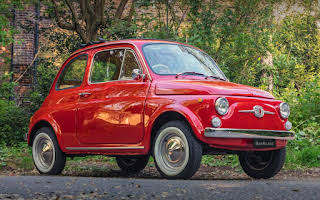 Fiat 500f Right Hand Drive Hire London Nw2 2ez