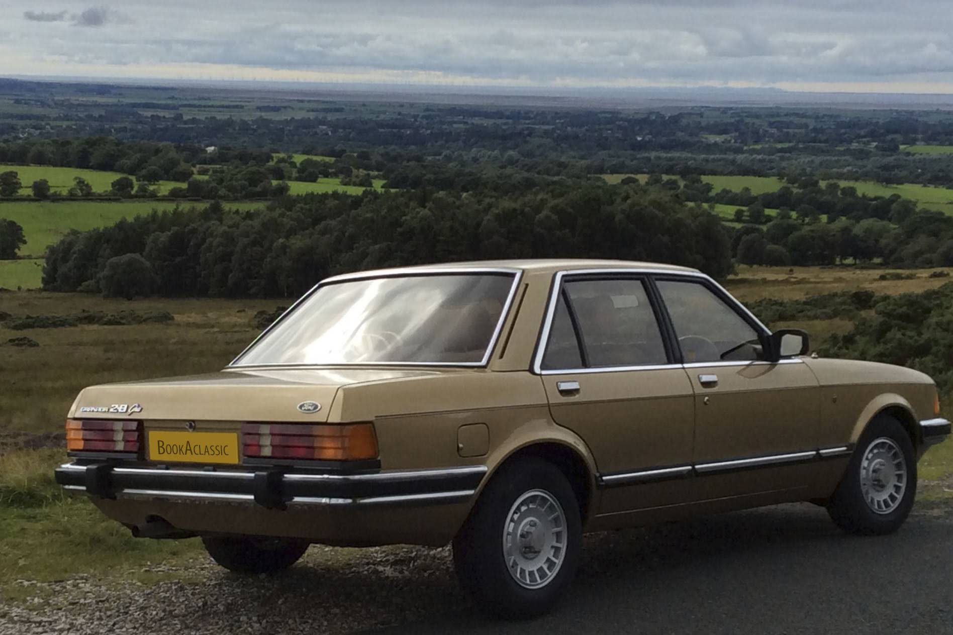 Ford Granada 2 8 Ghia For Hire In Preston Bookaclassic