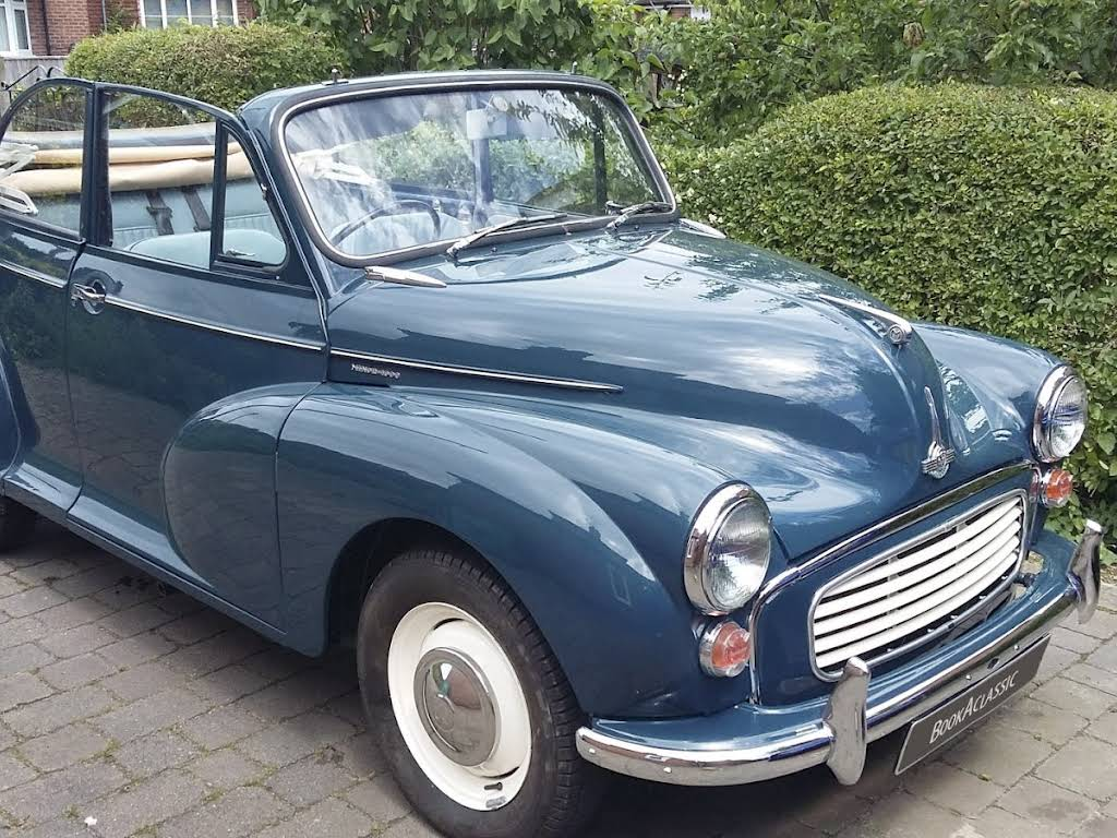 Morris Minor Convertible Hire Southampton