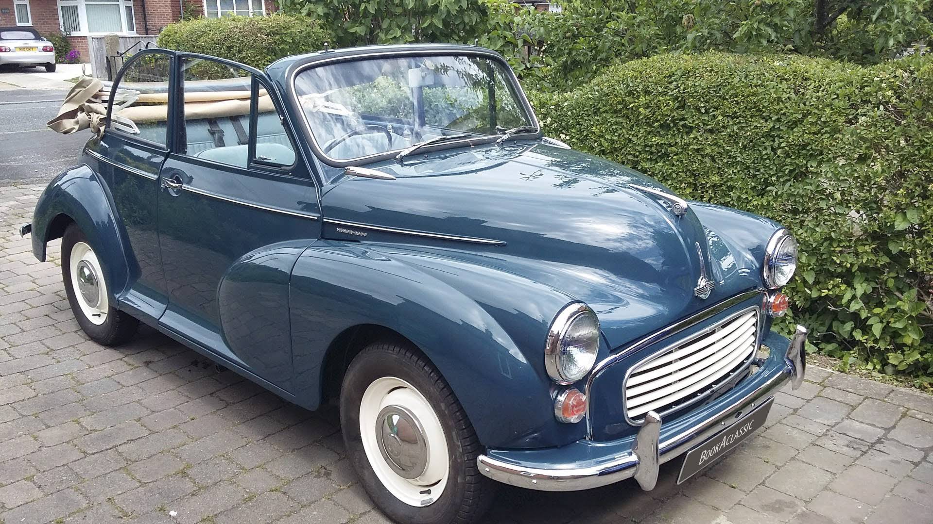 Morris Minor Convertible For Hire In Southampton