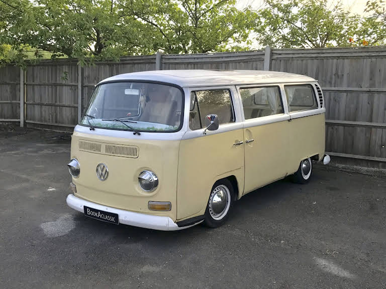 Volkswagen Camper Van Bay Window Hire Bishops Stortford