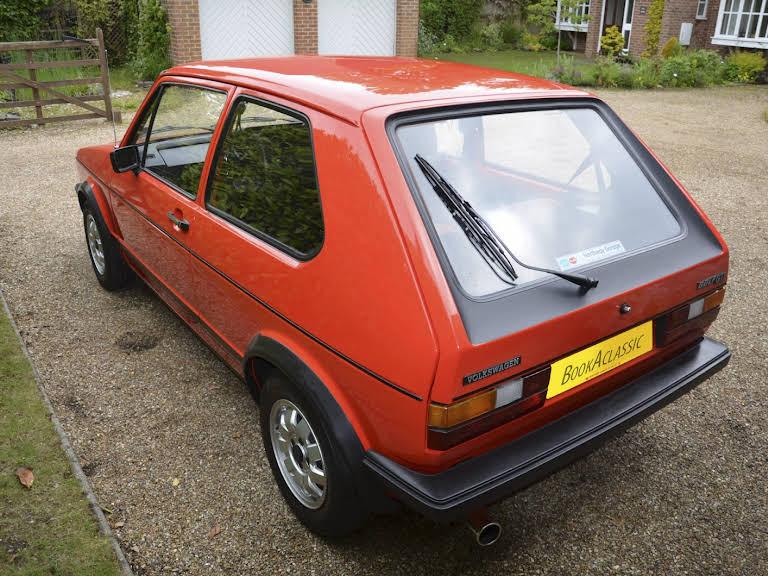 Volkswagen Golf Gti Mark 1 Hire Romsey
