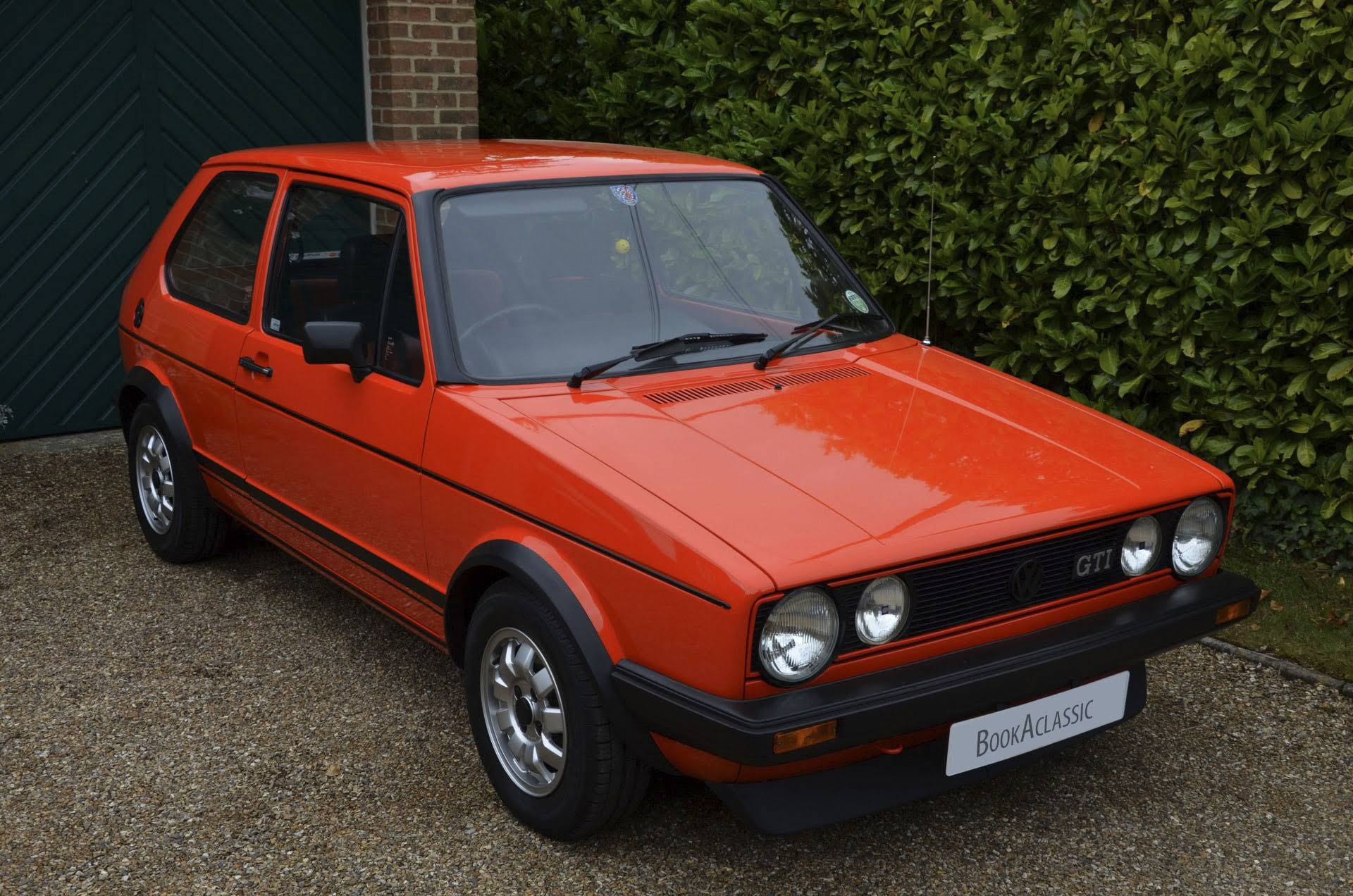 Volkswagen Golf Gti Mark 1 Bookaclassic