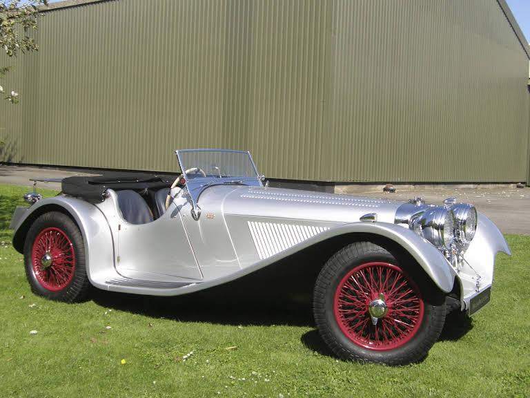 Jaguar SS 100 Hire Grays