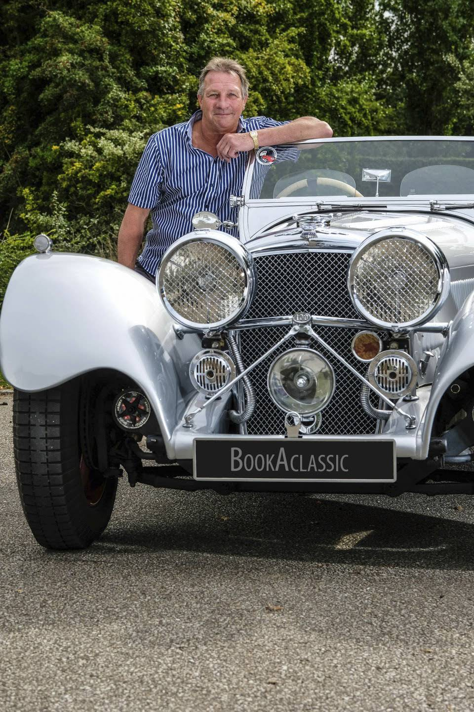 Jaguar Ss 100 For Hire In Grays Bookaclassic