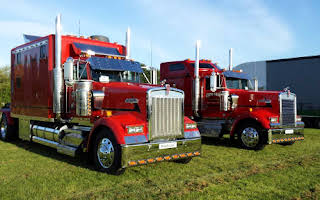 Kenworth W900l American Truck W900l Rent East Midlands